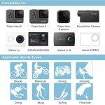 Accessoires pour Gopro Hero 6 5 4, Action caméras Accessoires pour Go Pro Hero Session 5 3 2 1 Black AKASO EK7000 Apeman et La Plupart Des Caméras De Sport par LUSCREAL. de la marque image 6 produit