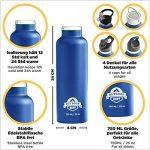 Acier inoxydable Flask Gourde () Double Paroi Isolée pour le sport, Fitness, enfants, la randonnée et bureau de la marque image 1 produit