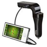 AGPTek Nouvelle Version FM Transmetteur Bluetooth Sans Fil pour Voiture Radio , Music Control, Appel Mains Libres, avec Chargement USB (Noir) de la marque image 3 produit