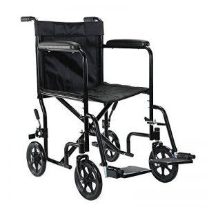 AnaellePandamoto Fauteuil Roulant Légère Pliable la Chaise Autotracté pour le Quotidien avec Freins, Taille: 46*58*87cm, Poids: 11kg de la marque image 0 produit