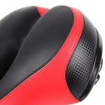 Antichoc Large Cushion Selle VTT Gel pour Homme et Femme, Selle de Vélo avec Mousse 3D, Bien Rembourré et Confortable de la marque image 4 produit