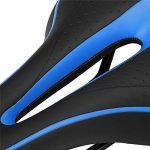 Asvert Selle de vélo Gel Confort Anti-choc Siège Réglable Antidérapant VTT Route 27 * 15cm de la marque image 3 produit