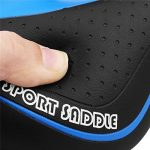 Asvert Selle de vélo Gel Confort Anti-choc Siège Réglable Antidérapant VTT Route 27 * 15cm de la marque image 4 produit
