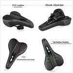 Asvert Selle de Vélo VTT avec Creux Siège en Gel Confort, 275x150x110mm de la marque image 6 produit