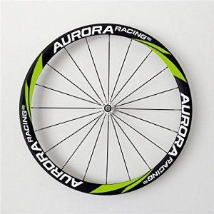 Aurora Racing 38C-23mm Pneu vélo de route en carbone Roues Novatec hub pilier rayons 20/24trous de la marque image 0 produit