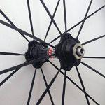 Aurora Racing 38C-23mm Pneu vélo de route en carbone Roues Novatec hub pilier rayons 20/24trous de la marque image 2 produit