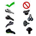 Bairicao Universal Soft Bike Gel Coussin d'assise confortable Tapis de selle de vélo pour Spin Class ou à l'extérieur au Cyclisme de la marque image 6 produit