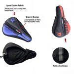 Bairicao Universal Soft Bike Gel Coussin d'assise confortable Tapis de selle de vélo pour Spin Class ou à l'extérieur au Cyclisme de la marque image 2 produit