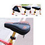 Bairicao Universal Soft Bike Gel Coussin d'assise confortable Tapis de selle de vélo pour Spin Class ou à l'extérieur au Cyclisme de la marque image 5 produit