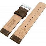 Barton Watch Bands Bracelet De Montre En Cuir Libération Rapide - Choisissez La Couleur Et La Taille de la marque image 2 produit