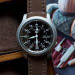 Barton Watch Bands Bracelet De Montre En Cuir Libération Rapide - Choisissez La Couleur Et La Taille de la marque image 3 produit