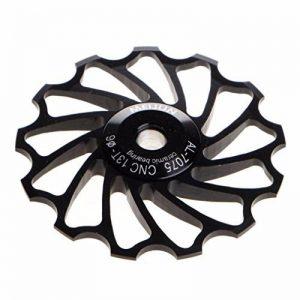 bescita 13T VTT Céramique Roulement de tendeur de Road Bike vélo Dérailleur arrière (Noir) de la marque image 0 produit