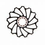 bescita 13T VTT Céramique Roulement de tendeur de Road Bike vélo Dérailleur arrière (Noir) de la marque image 5 produit