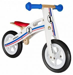 BIKESTAR Vélo Draisienne Enfants en bois pour garcons et filles de 2 - 3 ans ★ Vélo sans pédales évolutive 10 pouces ★ de la marque image 0 produit