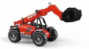 BRUDER - 02125 - MANITOU télescopique MLT 633 - Rouge de la marque image 0 produit