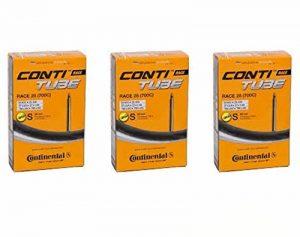 Continental Race 28 700 x 20-25c Bike Inner Tubes - Presta 80mm Long Valve (Pack of 3) de la marque image 0 produit
