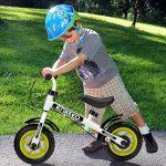 Enkeeo - Draisienne Vélo Enfant, Vélo Sans Pedale Enfant avec la cloche et le frein à main pour les enfants de 2-6 ans, cadre en acier au carbone, guidon réglable et Seat, capacité de 50kg de la marque image 4 produit