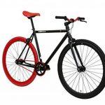 FabricBike- Vélo Fixie Noir, Fixed Gear, Single Speed, Cadre Hi-Ten Acier, 10Kg de la marque image 2 produit