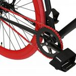 FabricBike- Vélo Fixie Noir, Fixed Gear, Single Speed, Cadre Hi-Ten Acier, 10Kg de la marque image 4 produit