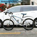 """Garde boue OnvianTech 2 roues rétractables pour vélo VTT et vélo de route, avant et arrière de vélo 14 """"à 26"""" Fender de la marque image 5 produit"""