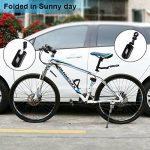 """Garde boue OnvianTech 2 roues rétractables pour vélo VTT et vélo de route, avant et arrière de vélo 14 """"à 26"""" Fender de la marque image 6 produit"""