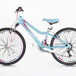 Guitars Chevalet Filles en alliage Vélo de montagne 61cm–Poids léger Suspension Mountain Bike- Bleu de la marque image 1 produit