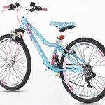 Guitars Chevalet Filles en alliage Vélo de montagne 61cm–Poids léger Suspension Mountain Bike- Bleu de la marque image 3 produit