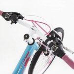 Guitars Chevalet Filles en alliage Vélo de montagne 61cm–Poids léger Suspension Mountain Bike- Bleu de la marque image 5 produit