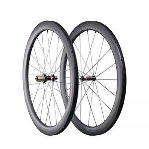 ICAN 700C Roues de Roue de Vélo de Route de Carbone 50mm Cincher Tubeless Prêt 1470g de la marque image 0 produit