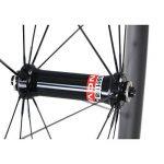 ICAN 700C Roues de Roue de Vélo de Route de Carbone 50mm Cincher Tubeless Prêt 1470g de la marque image 4 produit
