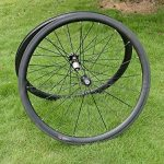 Jante de roue de pneu de vélo de route en carbone 3K mat 38mm basalte Frein côté Largeur 20,5mm Toray carbone Roues pour Shimano 8/9/10/11S de la marque image 3 produit