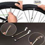 JOYORUN Kit de réparation de vélo, 51 Rustines, Kit réparation pour vélo - Patch pneu bicyclette vtt bmx, Mini de la marque image 6 produit