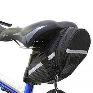 Kapoo Sacoche se Selle Bicyclette Sacoche de Vélo Rangement pour étanche avec bande réfléchissante pour VTT Voyageurs Cyclisme de la marque image 0 produit