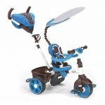 Little Tikes - 634352E4 - Tricycle - 4-en-1 Sports Edition Trike - Bleu/blanc de la marque image 1 produit