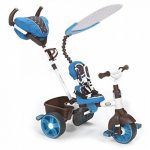 Little Tikes - 634352E4 - Tricycle - 4-en-1 Sports Edition Trike - Bleu/blanc de la marque image 2 produit