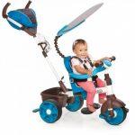 Little Tikes - 634352E4 - Tricycle - 4-en-1 Sports Edition Trike - Bleu/blanc de la marque image 6 produit