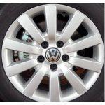 Lot de 4enjoliveurs avec logo volkswagen vW bouchons cercles Wheels de 65mm pour Golf Polo Beetle Fox de la marque image 1 produit
