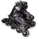 METEOR® Area Black: Les enfants Rollers ABEC 7 carbone, kinderin Liner Rollers avec taille réglable de la chaussure: S M L – S (30–33)-M (34–37) L (38–41) de la marque image 4 produit