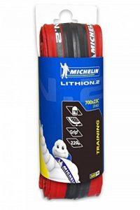 Michelin LITHION.2 Couverture pour vélo 700 x 23C, Rouge de la marque image 0 produit