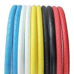 Mode couleur fixe Gear Pneu singlespeed pour vélo de route Pneu (Lot de 1, Noir, 700* * * * * * * * 23C) de la marque image 1 produit