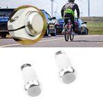 Paire Lampes Indicateurs Vélo Feux Clignotants de Direction Poignée Guidon Embouts en Alliage Alumiunm de la marque image 3 produit