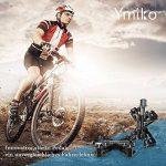 Pédale Vélo, Ymiko Pédales VTT en Alliage Aluminium 9/16 Pouces Antidérapant Pédales Vélo Route VTT BMX Noir de la marque image 6 produit