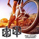 Pédales Vélos à Vélo Bicyclette, GoingMen Nouveau Aluminium Antidérapant Vélo Pédales Route Vélo Hybride Pédales pour 9/16 Pouces avec Outil D'installation Gratuit de la marque image 4 produit