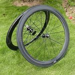 Pneu de vélo de route en carbone UD brillant complet jante Roue 60mm basalte Frein côté Largeur 25mm Toray carbone Roues pour Shimano 8/9/10/11S de la marque image 5 produit