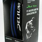 Pneu noir anti crevaison 700x 23C pour vélo 62TPI 3285 bleu de la marque image 2 produit