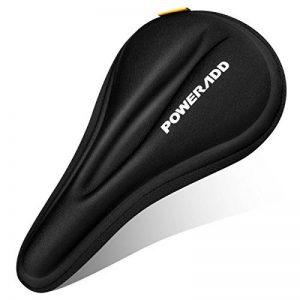 Poweradd Selle siège de vélo en gel coussin de vélo sur la route extrêmement doux et confortable pour le cyclisme et bicyclette extérieur de la marque image 0 produit