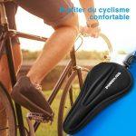 Poweradd Selle siège de vélo en gel coussin de vélo sur la route extrêmement doux et confortable pour le cyclisme et bicyclette extérieur de la marque image 6 produit