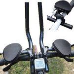 Prolongateur de triathlon et de contre la montre pour vélo de route et VTC - Noir de la marque image 6 produit