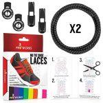 Proworks Lacets Sans Laçage ? Elastique Lacets Pour Adultes e Enfants Baskets de la marque image 6 produit