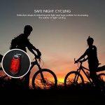 ROSWHEEL Sac de Vélo Sacoche à Vélo Porte-Bagages Arrière Fibre de Polyester Imperméable à l'eau et Résistant aux Déchirures de la marque image 2 produit